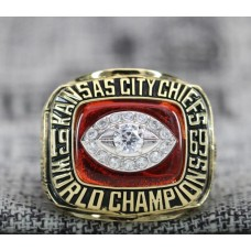 1969 Kansas City Chiefs NFL Super Bowl Championship ring