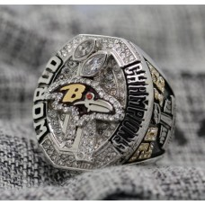 2012 Baltimore Ravens NFL Super Bowl Championship ring
