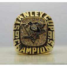 1991 Pittsburgh Penguins NHL Stanley Cup Championship ring