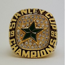 1999 Dallas Stars NHL Stanley Cup Championship ring