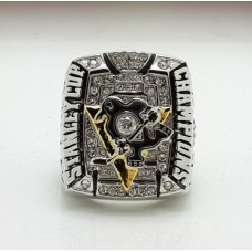 2009 Pittsburgh Penguins NHL Stanley Cup Championship ring